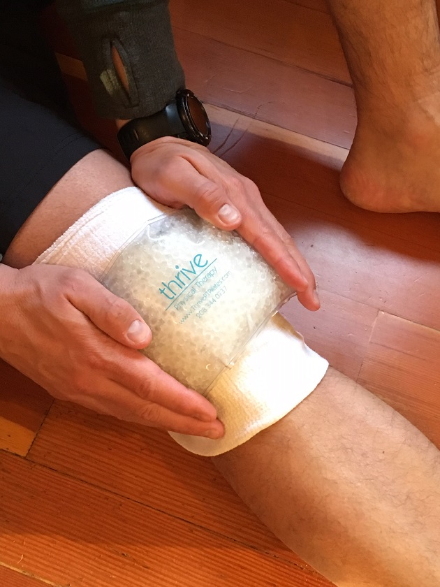 Ice pack to decrease swelling