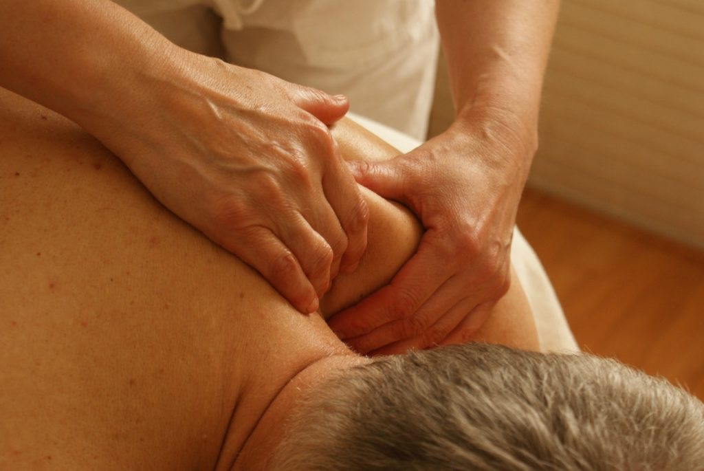 Massage therapy uses soft tissue mobilization techniques.
