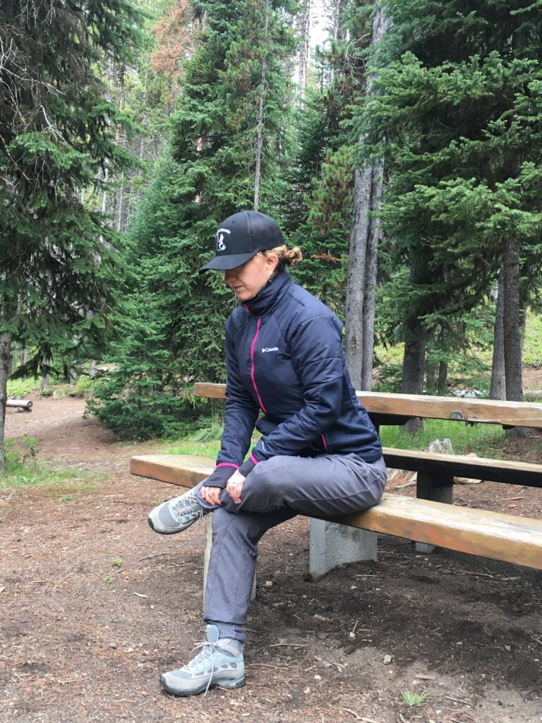 Camping warm-ups and stretches